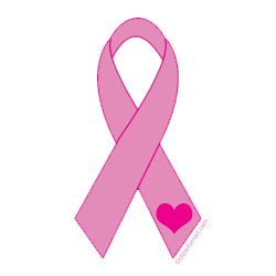 Clip Art Cancer Ribbon Clip Art pink ribbon with heart clip art free art