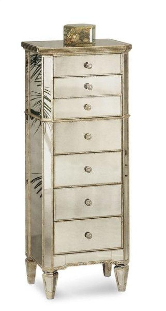 bassett mirror company borghese jewelry armoire item 8311227 chests trunks pinterest. Black Bedroom Furniture Sets. Home Design Ideas