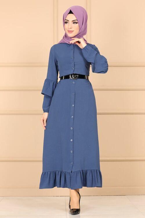 Mavi Elbiseye Hangi Renk Sal Gider Kadin Blogu Elbise Mutevazi Kiyafetler Moda Stilleri