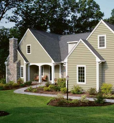 Greeny Neutral Exterior Like This Color Home Is Where