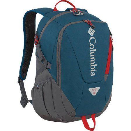 Columbia Hackers Creek Daypack, Blue Heron