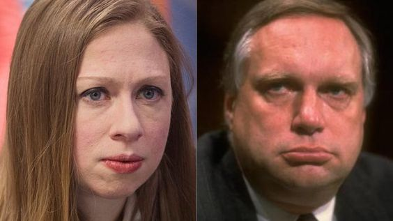 Is This Chelsea Clintons Real Father?