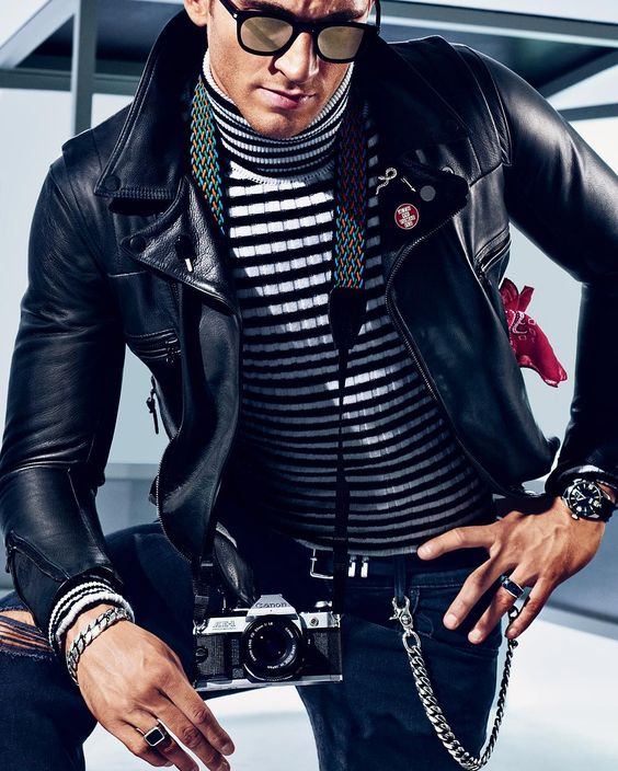 What To Wear Today: Beatnik staples upgraded. ( @sebastianmader) #WTWT #OOTD by gq:
