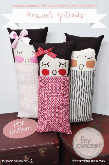 Travel pillows for little peeps $6