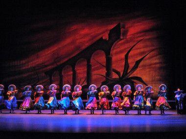 el ballet folklorico de amalia   Surgido en 1952 por la bailarina y coreógrafa Amalia Hernández.