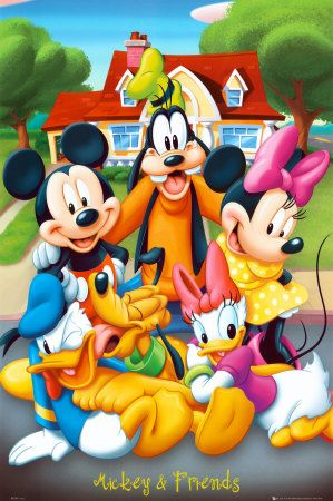 Mickey Mouse & Friends Poster 61 x 91 cm £5.99 current sale price 2.98…