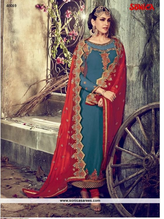 Price range Rs 4041-4239 Link: http://www.sonicasarees.com/salwar-suits?catalog=3998 Shipped worldwide. Lowest Price guaranteed.