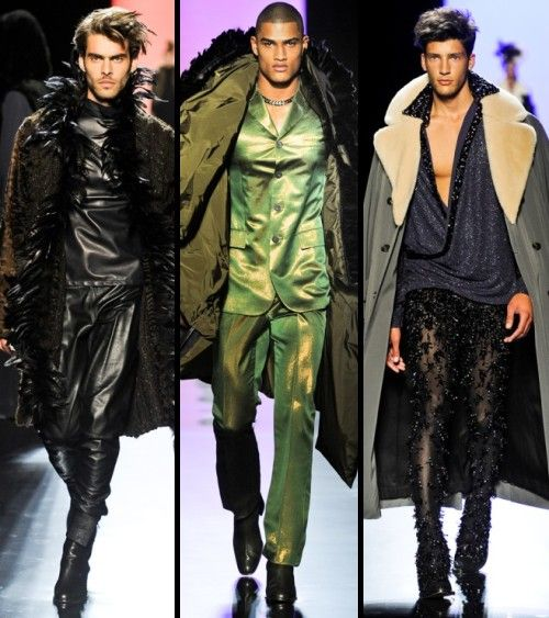 jean paul gaultier haute couture fall 11 mens haute