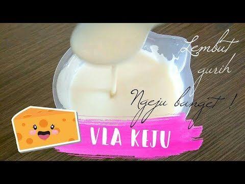 Resep Vla Keju Super Lembut Untuk Puding Kentalnya Sempurna Dan Tidak Menggumpal Youtube Keju Puding Resep