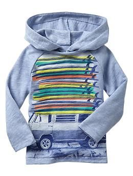 Spring break graphic hoodie | Gap