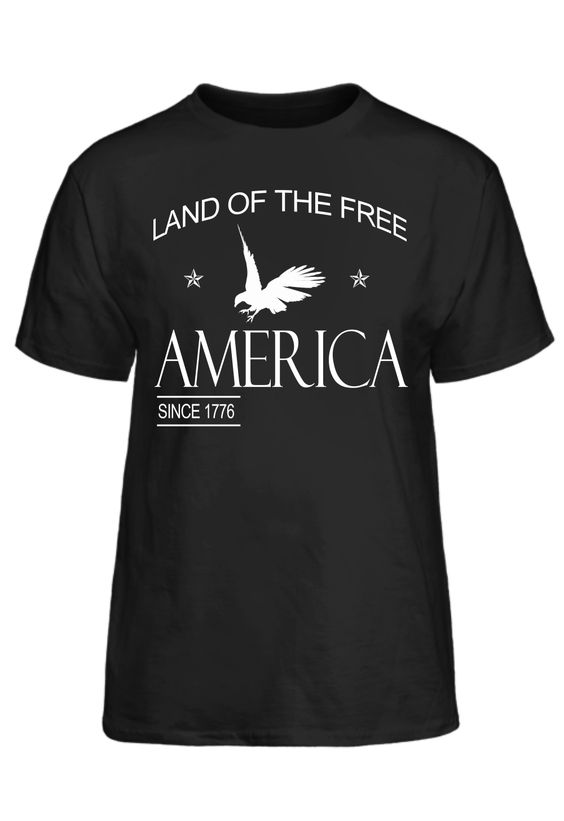Land Of The Free America Since 1776 #PassionTees #custom #hoodies #tshirts