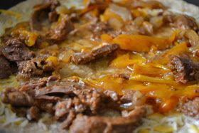 Kristin's kNook -a blog of food & thought: Steak Fajita Quesadillas in the Crockpot