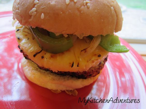 Renee's Kitchen Adventures: Chicken Teriyaki Burgers - Each (burger only) has about 179.4 calories and 4 WW Points+ #WeightWatchers #PointsPlus