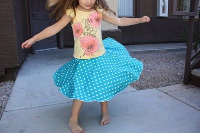 The Crafty Cupboard: The Ultimate Twirly Skirt