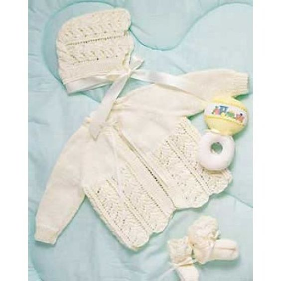 Baby Layette in Bernat Baby. Discover more Patterns by Bernat at LoveKnitting. The world's largest range of knitting supplies - we stock patterns, yarn, needles and books from all of your favorite brands.