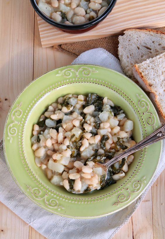 White beans and turnips stew (vegan and gluten free)