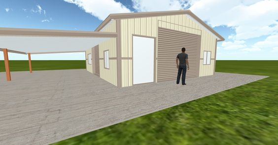 Dream #steelbuilding built using the #MuellerInc web-based 3D #design tool http://ift.tt/1NTILKz