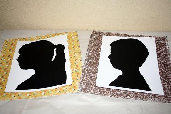 DIY-silhouettes