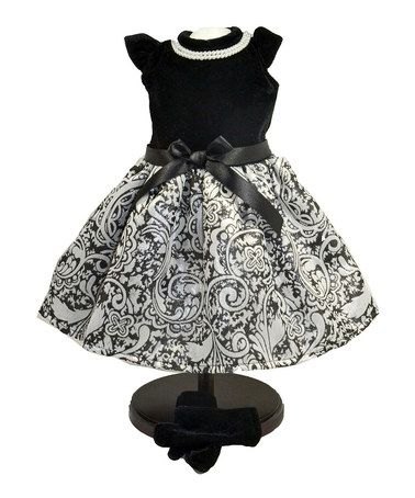 Another great find on #zulily! Little Black Dress Outfit for 18'' Doll #zulilyfinds