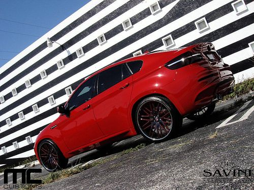 BMW HOT RED