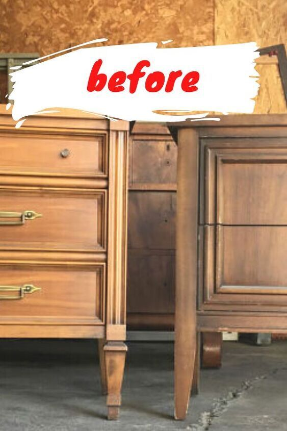 Bedroom Furniture Makeover, Painted Furniture Ideas Before And After 2021