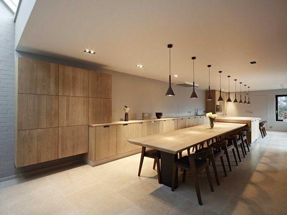 - Moderne keukenbank ...