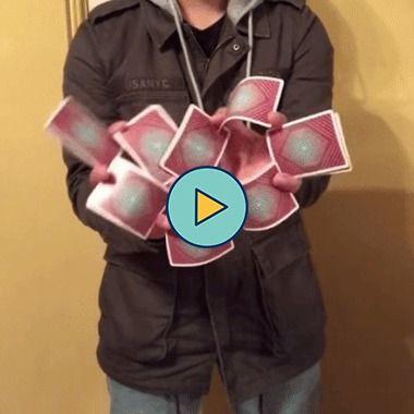 truque com cartas