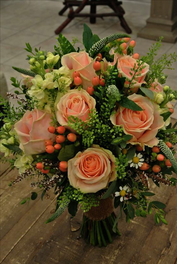 Wedding Flowers Purple And Orange Silk Flowers For Wedding Near Me And Purple Pink And Blue Wedding Peach Wedding Flowers Flower Arrangements Flowers Bouquet