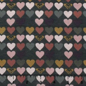 With this fabric...: Cotton Jersey, Heart Rows, Roxy Muted, Rows Cotton, Fabrics, Jersey Knits, Muted Heart