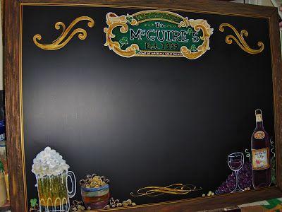 McGuire Family Chalkboard
