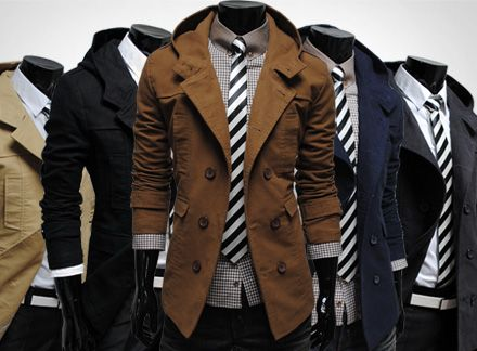 Love the cut of these jackets!