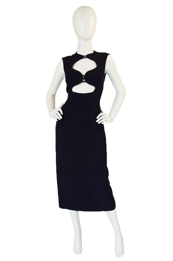 1990s Sophie Sitbon Cut Out Dress