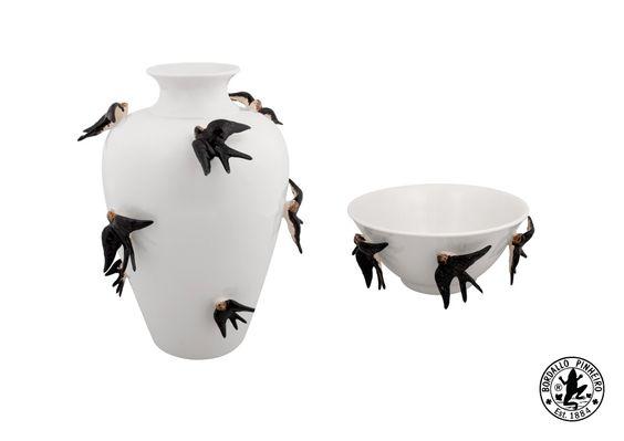 Spring Large Pot & High Bowl