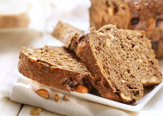 Pan integral de manzana y nueces, desayuno perfecto - Recetín