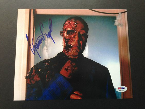 Giancarlo Esposito signed 8x10 photo