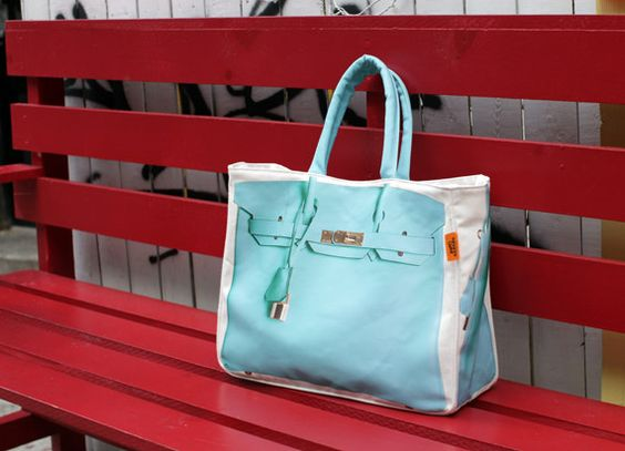 celine phantom luggage tote replica - The banana taipei birkin bag... in tiffany blue. I want one...but ...