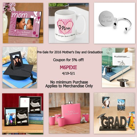 Pre-Sale for 2016 Mother's Day and Graduation from HotRef.com