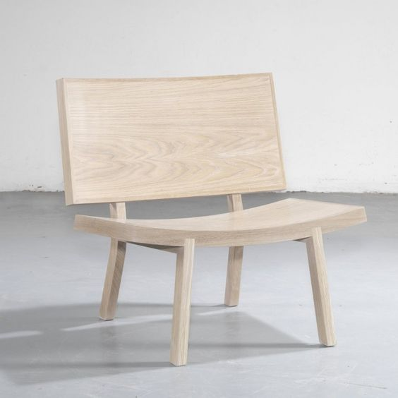 """Portuguese designerGonçalo Camposhas designed the Sorri lounge chair forWEWOOD. Description from the designer """"Sorri"""" is a friendly chair, ingenious, wide and inviting. Easily recognised by those great gentle surfaces, an important feature that provides all..."""