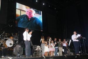 El tapin Jorge el Médico, dio el Pregón de las Fiestas de Santa María de Lugo…