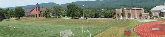 View of Thorndike Field during 2012 NMH Summer Session