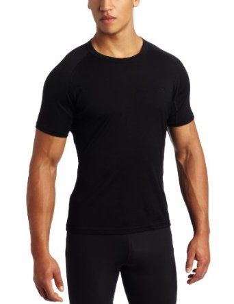 Icebreaker Men's Contour Crewe - Black L. Worn alone or as a base layer, the IceBreaker Contour Crewe Top for Men is a lightweight active top that soft against your skin and cut for complete freedom of movement.