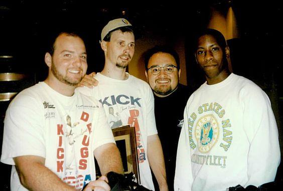 Original KDOOA aka #KickstartKids Instructors. From Left to Right, John Kurek, Tommy Crouch, Robert Sapp and Warren Scott.