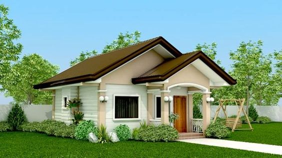 25 Photos Of Small Beautiful And Cute Bungalow House Simple House Design Bungalow House Design Simple Bungalow House Designs