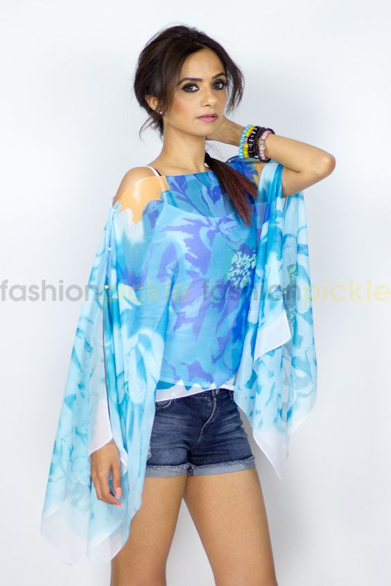 Virag Top/Cover-up