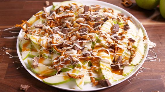 We're Hooked on Apple Nachos You're not gonna believe how good they are!!