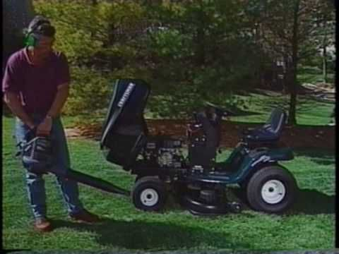 Craftsman Lawn Garden Tractor Use And Maintenance Guide Vhs 1999 3 Garden Tractor Lawn And Garden Lawn