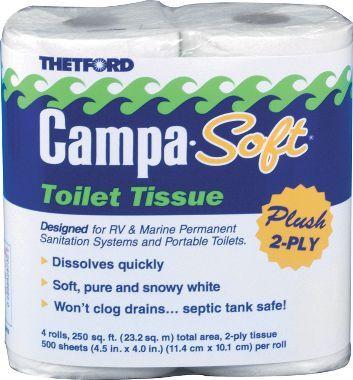 Thetford Camp-Chem Toilet Tissue - 2 Ply : Cabela's