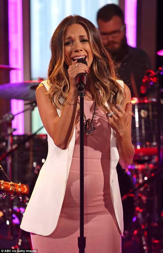 Success: The former actress, who lives in Nashville, is doing great as a singer and songwr...
