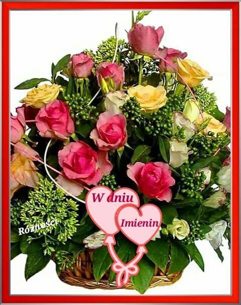 W Dniu Imienin Name Day Happy Birthday Wishes Cards Happy Birthday Wishes