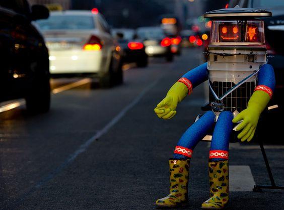 Hitchbot autostop